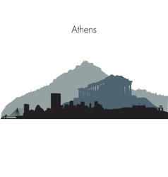 Athens skyline vector