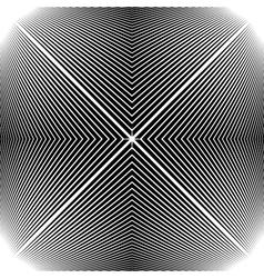 Design monochrome stripy geometric background vector
