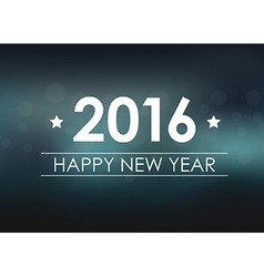 Design New Year banner on a blurred background vector image vector image