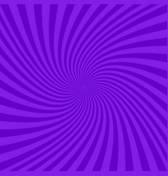 Purple abstract spiral design background vector