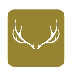 Hunting club logo icon vector