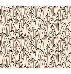 Seamless pattern with hand drawn line grid vector