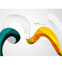 Abstract futuristic design background vector image vector image