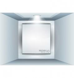 led spotlights vector image vector image