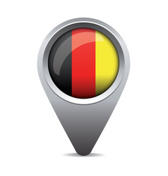 Germany flag pointer vector