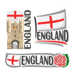 Logo for england vector