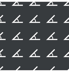 Straight black angle pattern vector