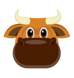 avatar of a bull vector image