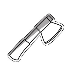 Axe construction tool vector