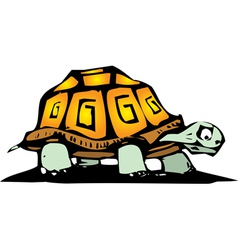 Box turtle vector