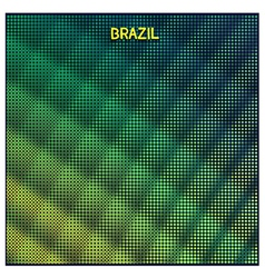 Digital background brazil vector