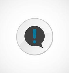 info icon 2 colored vector image