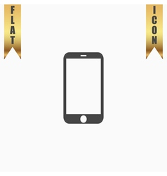 Mobile mini tablet icon vector