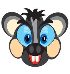 Mug animal mouse vector image vector image
