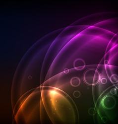 Shiny Circles Background vector image vector image
