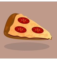 Very high quality original trendy pizza vector image