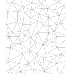 Seamless polygonal pattern vector
