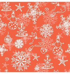 Snowflakes wallpaper vector