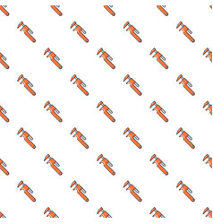Adjustable wrench pattern seamless vector