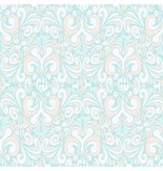 Seamless vintage pastel blue background vector image