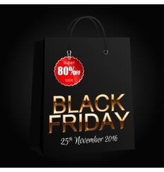 Black Friday 7 vector image