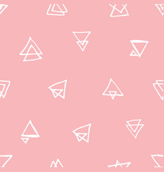 fashionable seamless pattern design vector image vector image