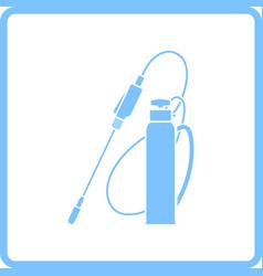 Garden sprayer icon vector