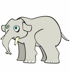 young elephant vector image vector image
