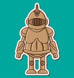 06 knight wooden dummy vector