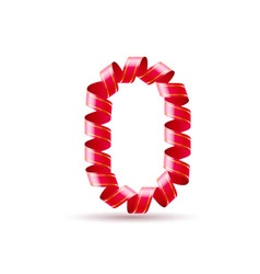 Festive numbers vector