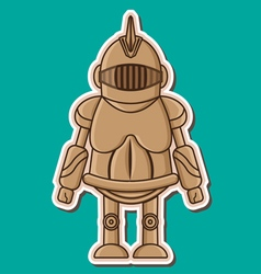 06 knight wooden dummy vector