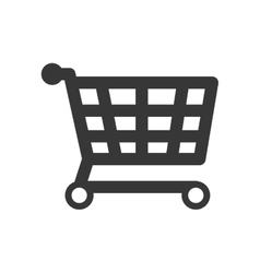 Shopping cart icon commerce design vector