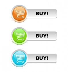 buy basket vector image vector image