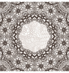 ethnic vintage ornament background vector image