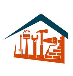 Home repair design vector