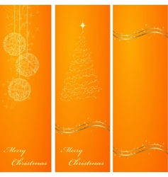 vertical banners vector image vector image