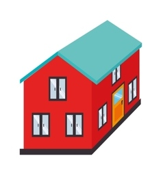 House home real estate isolated vector