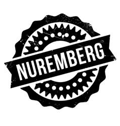 Nuremberg stamp rubber grunge vector