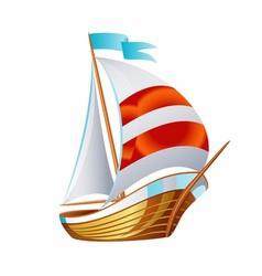 Sailing icons art symbol vector