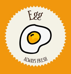 Egg design vector
