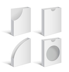 Set folders holders vector