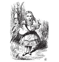 Alice Adventures vector image