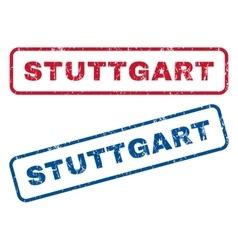 Stuttgart rubber stamps vector