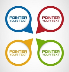 Pointers vector