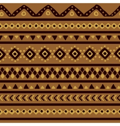 Brown mexican pattern vector