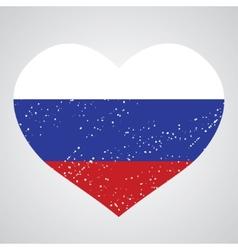 emblem of russian vector image