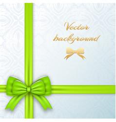 festive invitation card vector image vector image