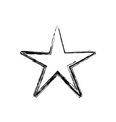figure nice shiny star art design vector image vector image