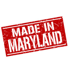 Made in maryland stamp vector