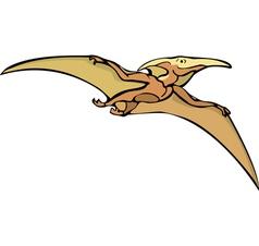 Pterosaur dinosaur a vector